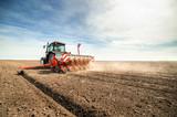 seeding crops at field - 109294286