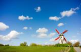 Windmill, Damme, Belgium.