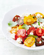 Cherry Tomato Salad with Feta and Basil
