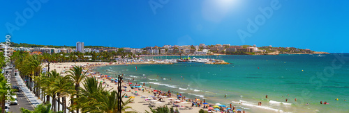 View of Platja Llarga beach in Salou Spain - 109333090