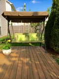 Patio with swing - 109349200