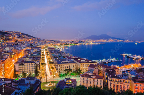 Foto op Canvas Napels Napoli
