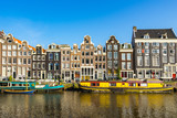 Canal houses of Amsterdam City Center