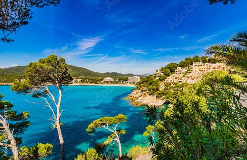 Obraz na Plexi Idyllic view of the bay in Canyamel Majorca Spain Island
