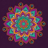 Mandala design. bohemic concept