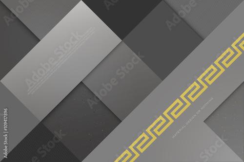 monochromatyczne-tlo-z-kwadratowymi-ramkami-i-klasycznym-zlotym-ornamentem-wektor-geometryczne-tapety-mody-materialny-szablon-projektu-styl-origami-wektor-uklad-wizytowki