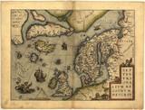 "Vintage map 109858573,Fresh Food"""