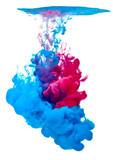malovat akvarel kapalina modrá červená