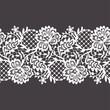 Lace Ribbon Seamless Pattern
