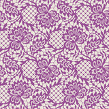 Pink Lace Seamless Pattern