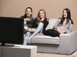 Girls watching movies