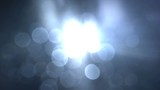 Blue light and lens flares seamless loop 4k UHD (3840x2160)