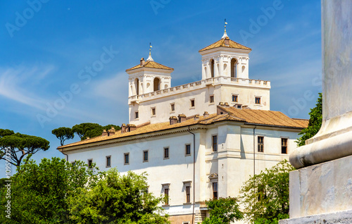 Staande foto Rome View of the Villa Medici in Rome