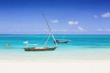 Fototapety Tropical seascape, Zanzibar island