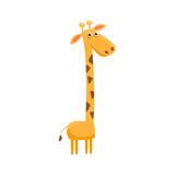 Giraffe Funny Illustration - 109600020