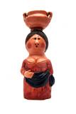 statuetta di ceramica