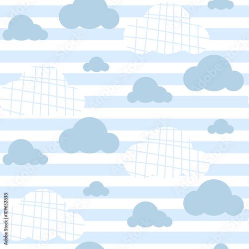 chlopiec-wektor-wzor-jasnoniebieskie-chmury-nieba-chmury-nadruk-na-tkaninie-dekoracja-pokoju-dzieciecego-na-sciane-plotno-powierzchnie