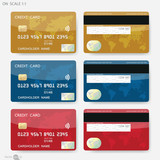 Fototapety Credit cards