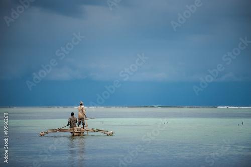 Foto op Plexiglas Zanzibar Fishermen in Zanzibar Island