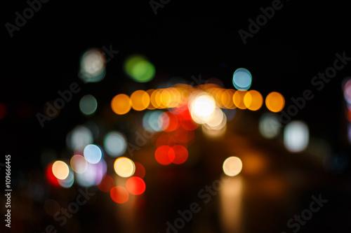 Foto op Aluminium Las Vegas colorful abstract holiday lights