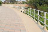 balcony near river