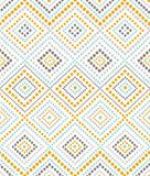 seamless pattern with dotted ornament
