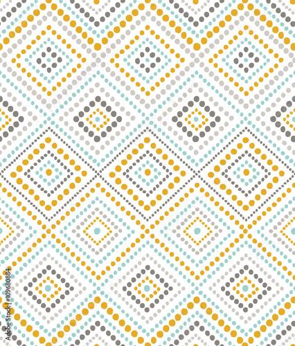 Stoffe zum Nähen nahtlose Muster mit gepunkteten ornament