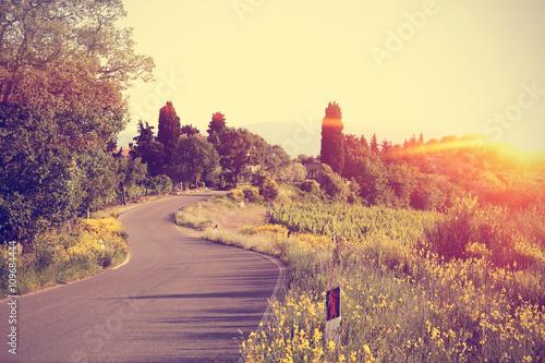 tuscany landscape  © magdal3na