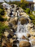 japon bahçesi / yapay şelale
