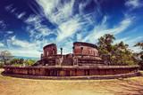 Ancient Vatadage Buddhist stupa, Sri Lanka