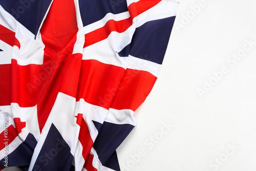 Poster Closeup of Union Jack flag