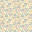 Abstract geometric background - seamless vector pattern for presentation, booklet, website and other design project. Seamless vector background in pastel colors. Triangles background.