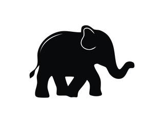 big elphant Silhouette