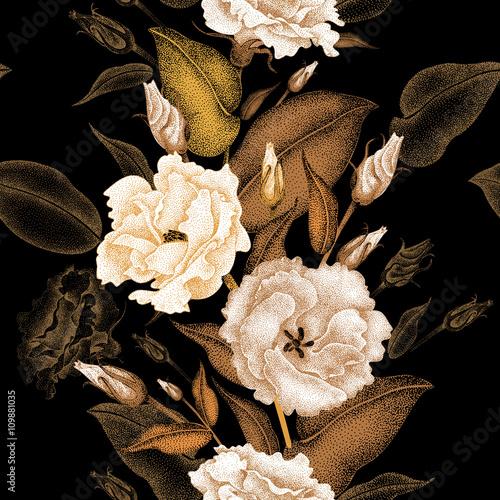 Floral seamless pattern. - 109881035