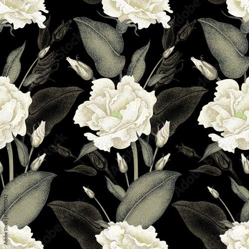 Floral seamless pattern. - 109881042