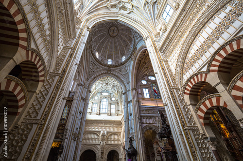 Keuken foto achterwand Antwerpen La Mezquita Cathedral in Cordoba, Spain. The cathedral was built