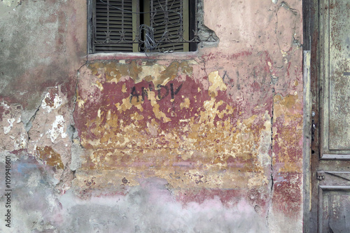"""""""Old Facade Havana / Beautiful composition with patinated ..."""