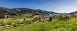 Panoramalandschaft im Gutachtal, Schwarzwald