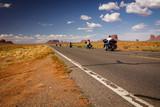 Biker on Route 66