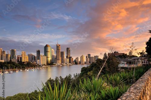 fototapeta na ścianę Australia Landscape : City of Brisbane