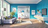 modern living room - 109999667