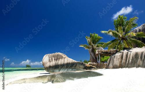 Fotografiet Strand auf den Seychellen