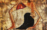 Dancer of ancient Egypt