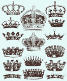 Royal Crowns, cracked style.