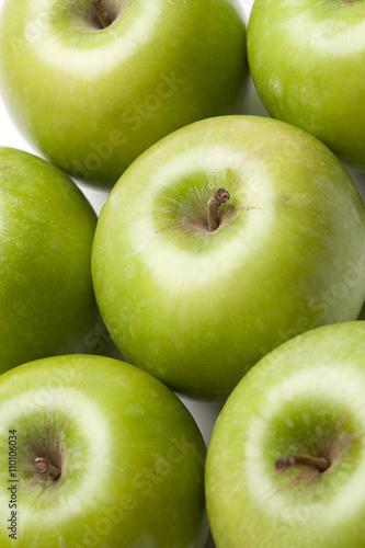 Fototapeta cluster of apples