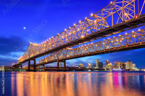 Leinwandbild Motiv New Orleans Skyline