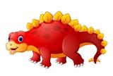 Kreskówka ładny dinozaur
