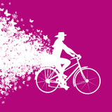 affiche vélo-promenade bucolique