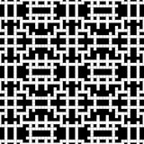 seamless pattern - a grid a crossword puzzle from black and whit