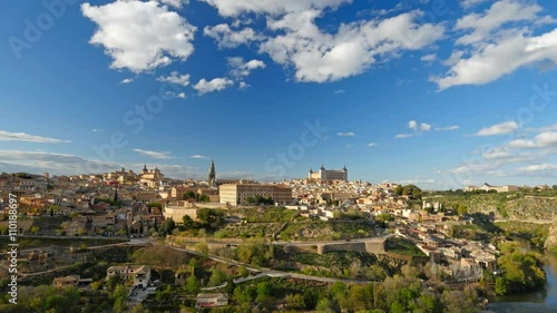 Zdjęcia na płótnie, fototapety, obrazy : Toledo, Spain. Time lapse